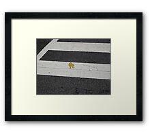 Little Robot Framed Print