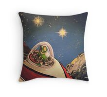Space Toys Throw Pillow