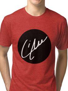 Liam Payne Signature - White Tri-blend T-Shirt