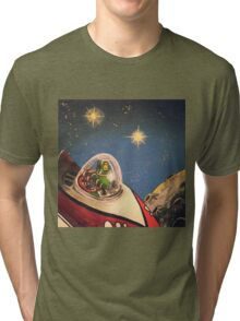 Space Toys Tri-blend T-Shirt