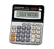 Naughty calculator Photographic Print