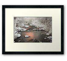 Clear Creek, Golden Colorado Framed Print