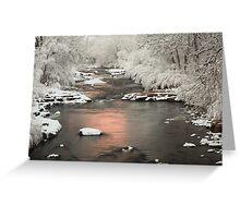 Clear Creek, Golden Colorado Greeting Card