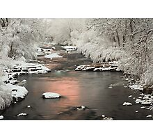 Clear Creek, Golden Colorado Photographic Print