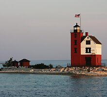 Round Island Lighthouse by Jessica Sells