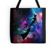 Peter Pan Galaxy Tote Bag