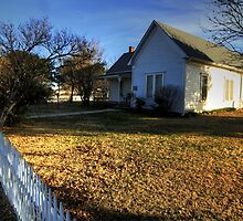 The Really Significant Historical Little House in Cross Plains, Texas by Terence Russell