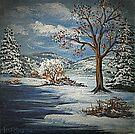 Winter Lake by teresa731