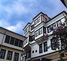 House of Robevci, Ohrid, Macedonia by Miodrag Konstantinov