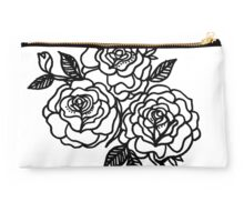 Triplet of Roses Studio Pouch