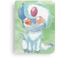 Baby Absol Canvas Print
