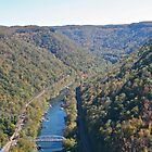 New River Gorge, WV by jamsicle