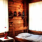 Cracker House Bedroom (HDR) by Virginia N. Fred