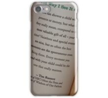 Tim Russert iPhone Case/Skin