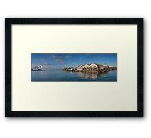 Kewalo Basin Harbor Framed Print