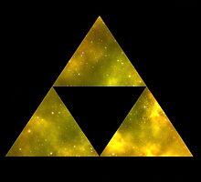 Triforce by Eddie Camara