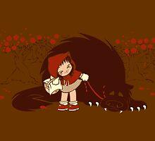 Bossy Red Riding Hood by alepresser