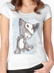 Baby Houndoom Women's Fitted Scoop T-Shirt