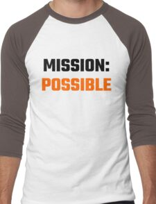 Mission Possible Men's Baseball ¾ T-Shirt