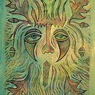 Green Man - by Firebane