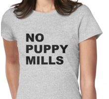 No Puppy Mills Womens Fitted T-Shirt