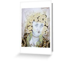 Dreams Of Gold Greeting Card
