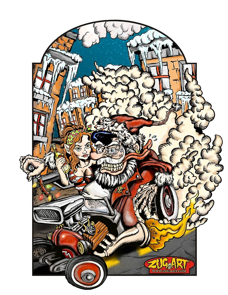 A Very Ratfink Christmas by ZugArt