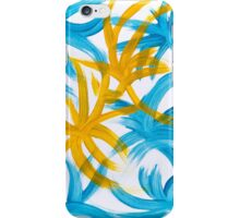 Palm Island Abstract Painting iPhone Case/Skin