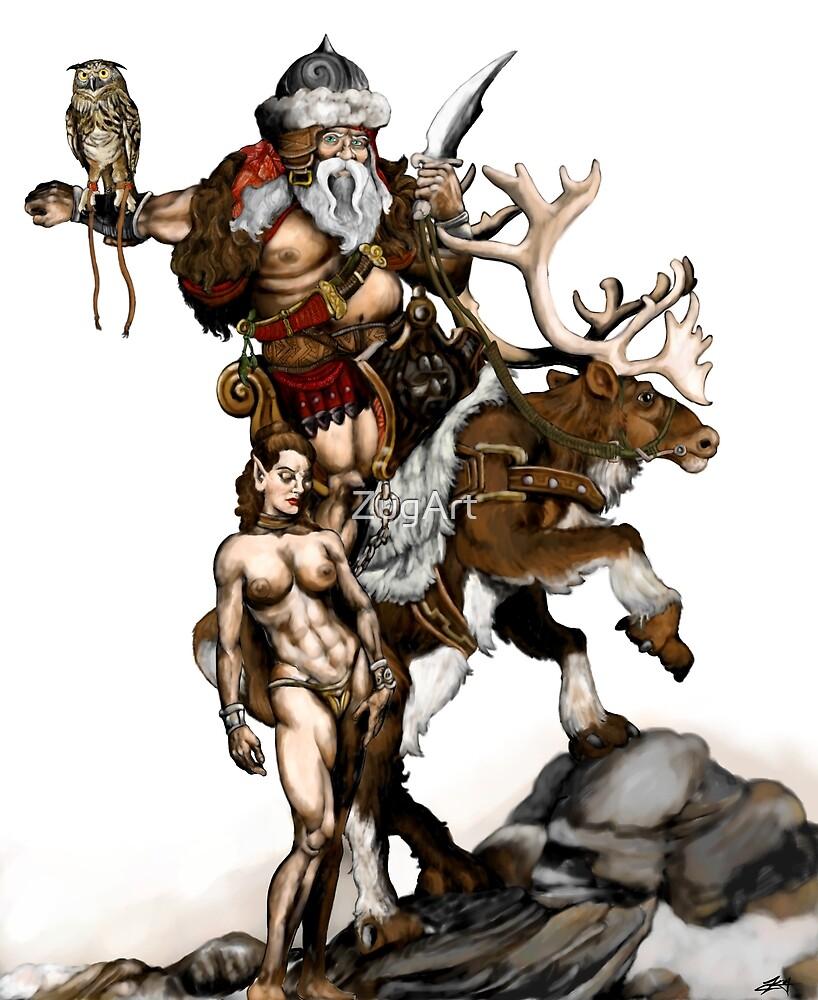 Warlord Santa by ZugArt