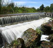Flowing Weir by DaniSpinks