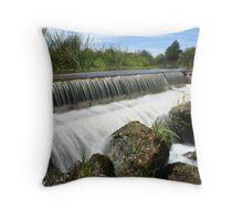 Flowing Weir Throw Pillow