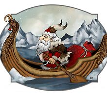 Santa Viking by ZugArt
