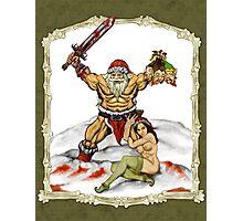 Santa Warlord V2 Photographic Print