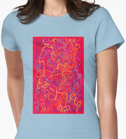 From Here to Eternity - original drawing Womens Fitted T-Shirt