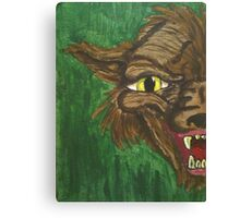 Beast Within  Canvas Print