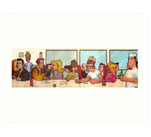 The Diner Art Print
