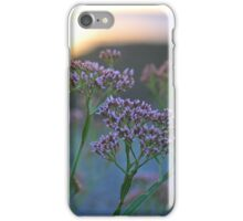 Scenic Wildflowers Against Sunset iPhone Case/Skin