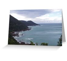 Great Ocean Road Cliffs Greeting Card