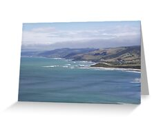 View from Great Ocean Road Greeting Card