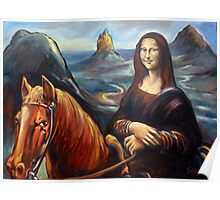 Mona in the Mountains, (glasshouse mountains) Poster