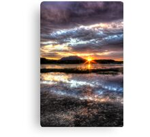 Willow Lake Blues Canvas Print