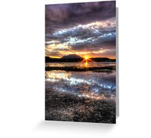 Willow Lake Blues Greeting Card