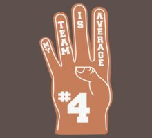 Orange Foam Finger by yelly123