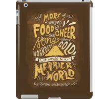 Food Cheer and Song iPad Case/Skin