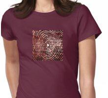 MysticCoder © Binary Code Thumbprint  Womens Fitted T-Shirt
