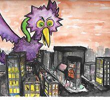 Birdzilla by chimchimtim