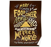 Food Cheer and Song Poster