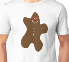 The Gingerbread Man Unisex T-Shirt