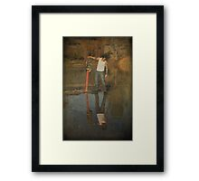 If You Look Deep Enough Framed Print