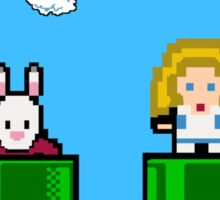 8-Bit Alice Sticker